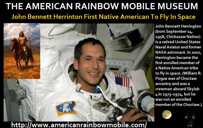 first native american to fly in space